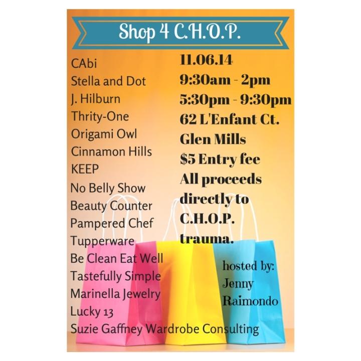 This Thursday…Shop forThe Children's Hospital ofPhiladelphia
