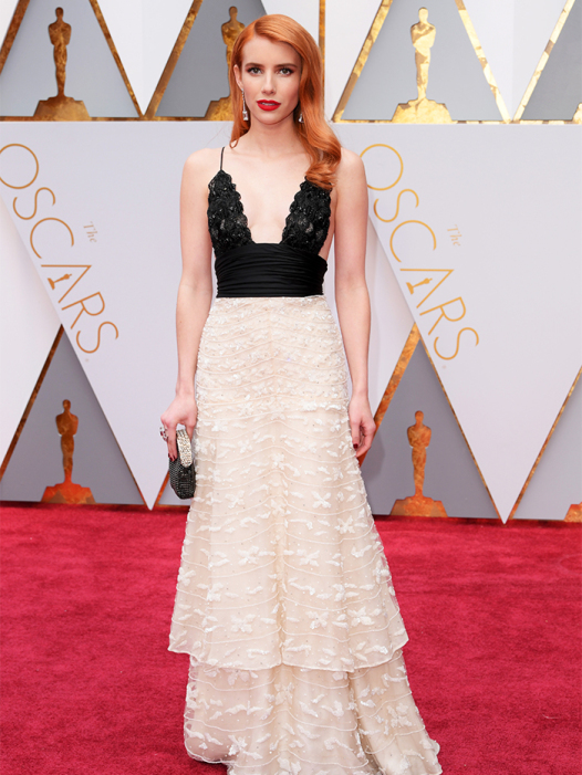 Mandatory Credit: Photo by David Fisher/REX/Shutterstock (8434880as) Emma Roberts 89th Annual Academy Awards, Arrivals, Los Angeles, USA - 26 Feb 2017