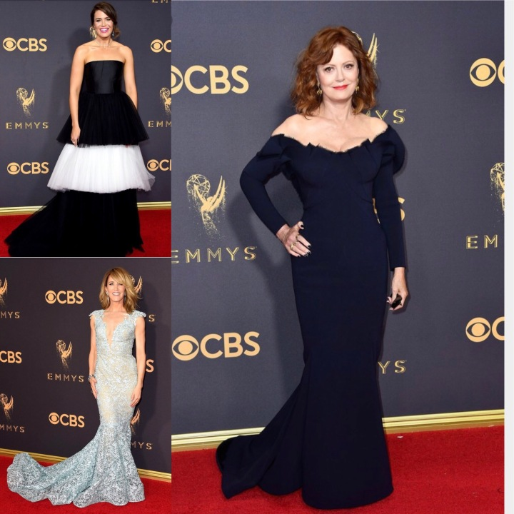 It's Back to School Time and it's Back to the Emmy's…let's grade the red carpet looks.